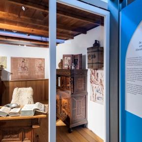"""LVR-Niederrheinmuseum Wesel, Foto: © 2018 k.enderlein FOTOGRAFIE, Blick in die Sonderschau """"Wesel und die NiederRHEINlande"""""""