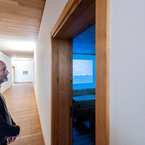 Tomas Riehle.Fotografie im Siza Pavillon Raketenstation Hombroich, Ausstellungsansicht, Foto: © 2018 k.enderlein FOTOGRAFIE