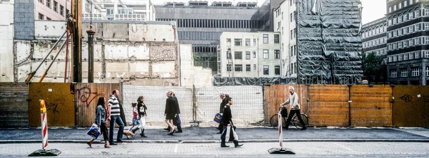 Die Wunden meiner Stadt im Vorübergehen © k.enderlein FOTOGRAFIE
