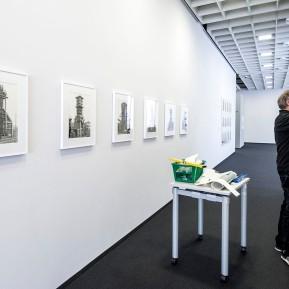 JOSEF ALBERS MUSEUM QUADRAT BOTTROP, Ausstellung Bernd und Hilla Becher. Bergwerke, letzte Vorbereitungen - Foto: © k.enderlein FOTOGRAFIE