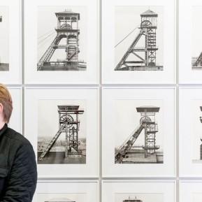JOSEF ALBERS MUSEUM QUADRAT BOTTROP, Ausstellung Bernd und Hilla Becher. Bergwerke, Max Becher (Ltr. Studio Bernd und Hilla Becher) - Foto: © k.enderlein FOTOGRAFIE