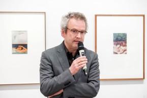 MUSEUM FOLKWANG, Luigi Ghirri - Karte und Gebiet, Hans-Jürgen Lechtreck (Geschäftsführender Direktor), Foto: © 2018 k.enderlein FOTOGRAFIE