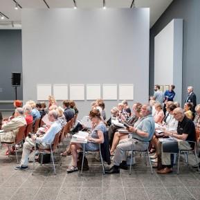 ANNI ALBERS Ausstellung K20 Grabbeplatz, Großer Andrang bei der Vorbesichtigung © 2018 k.enderlein FOTOGRAFIE