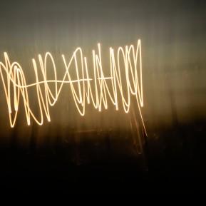 "SONNENZEICHEN #3, 51º14´04.93"" N - 6º47´17.05"" O, 19.08.2018, 19:56:47-19:56:55, 8,0 Sek. bei ƒ 32, © 2018 k.enderlein FOTOGRAFIE"