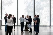Museum Folkwang Essen, Bouchra Khalili - The Tempest Society/Twenty-Two Hours, Ausstellungsvorstellung © 2018 k.enderlein FOTOGRAFIE