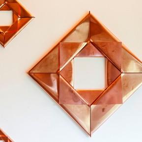"Stiftung Insel Hombroich, Remo Salvadori im Siza Pavillon, ""I sette metalli, 2017"", Detailansicht, © 2018 k.enderlein FOTOGRAFIE"