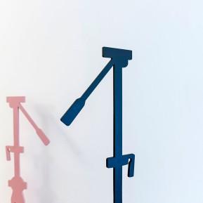 """Stiftung Insel Hombroich, Remo Salvadori im Siza Pavillon, """"L´Osservatore non l´oggetto, 1981-2013"""", Detailansicht, © 2018 k.enderlein FOTOGRAFIE"""