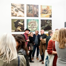 Ausstellungseröffnung Bertram Rutz - Dark Passage/Unlimited, © 2018 k.enderlein FOTOGRAFIE