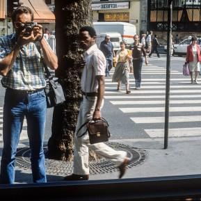 Selbstportrait k.e, PARIS 1980er Jahre © 2019 k.enderlein FOTOGRAFIE