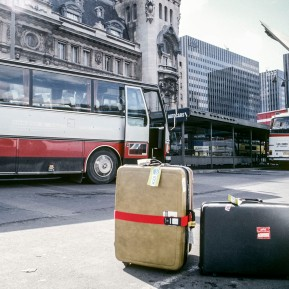 Am Gare de Lyon, PARIS 1980er Jahre © 2019 k.enderlein FOTOGRAFIE