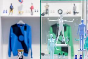 PIERRE CARDIN.FASHION FUTURIST, Ausstellung im Kunstpalast Düsseldorf, Museumsshop © 2019 k.enderlein FOTOGRAFIE