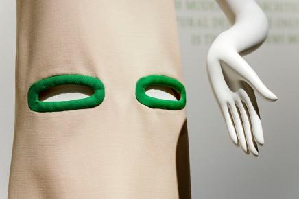 PIERRE CARDIN.FASHION FUTURIST, Ausstellung im Kunstpalast Düsseldorf, Ausstellungsansicht (Detail) © 2019 k.enderlein FOTOGRAFIE