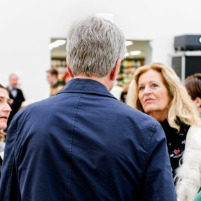 Edvard Munch im K20 - Pressekonferenz, (Prof. Dr. Susanne Gaensheimer, Karl Ove Knausgård, Annette Bosetti, Dr. Anette Kruszynski, v.l.n.r.) © 2019 k.enderlein FOTOGRAFIE