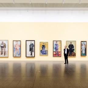 Edvard Munch im K20 - Ausstellungsansicht © 2019 k.enderlein FOTOGRAFIE