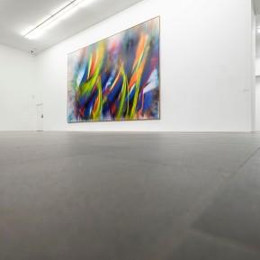 MKM Duisburg - FARBE ABSOLUT, Katharina Grosse X Gotthard Graubner, Ausstellungsansicht © 2019 k.enderlein FOTOGRAFIE