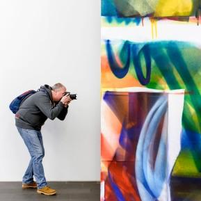 MKM Duisburg - FARBE ABSOLUT, Katharina Grosse X Gotthard Graubner, Ausstellungsvorbesichtigung © 2019 k.enderlein FOTOGRAFIE