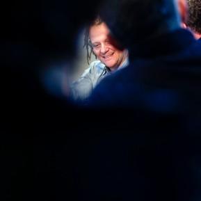 SURVIVORS - 75 Portraits von Überlebenden, Fotografiert von Martin Schoeller, Zeche Zollverein Essen, Der Fotograf Martin Schoeller beim Pressegespräch © 2019 k.enderlein FOTOGRAFIE
