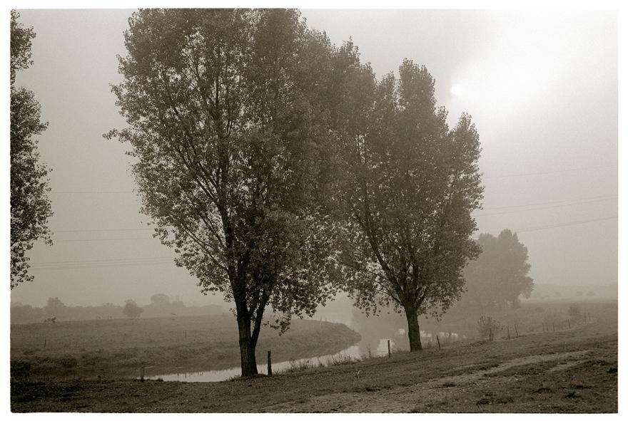 Die Lippe bei Wesel am Niederrhein