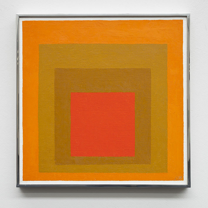 Josef Albers, Study for Homage to the Square, 1973 | © The Josef and Anni Albers Foundation / Foto: Werner J. Hannappel, VG Bild-Kunst, Bonn